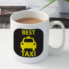 Best Taxi Personalised Mug
