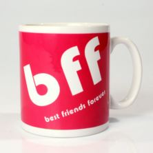 Personalised BFF Txt Mug