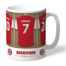 Personalised Brentford FC Dressing Room Mug