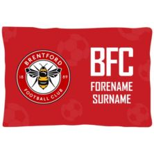 Personalised Brentford FC Crest Pillowcase