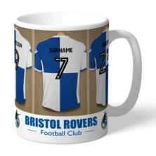 Personalised Bristol Rovers FC Dressing Room Mug