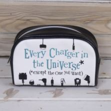 Every Charger In The Universe Bag