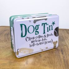 Dog Essentials Tin