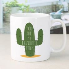 Personalised You Are My Favourite Prick Mug