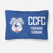 Personalised Cardiff City FC Crest Pillowcase