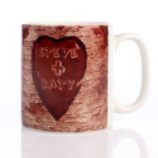 Carved Message Mug