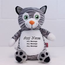 Personalised Embroidered Cubbies Mr Miowgi Cat