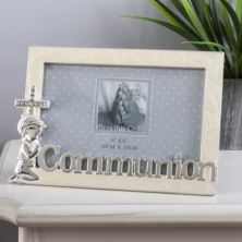 Bless This Child Silverplated Communion Frame - Boy