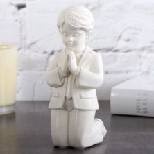 Bless This Child Praying Boy Figurine
