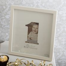 Bambino 1st Birthday Signature Photo Frame