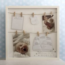 Bambino Welcome To The World Hats & Mittens Box Frame
