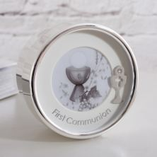 My First Communion Engraved Trinket Box