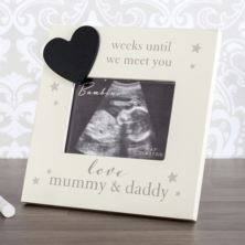 Countdown Baby Scan Photo Frame
