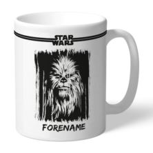 Personalised Star Wars Chewbacca Paint Mug