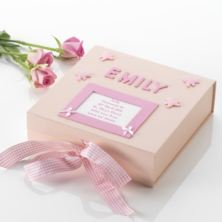 Personalised Christening Memory Box