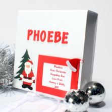 Personalised 1st Christmas Memory Box