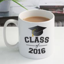 Personalised Class Of Graduation Year Mug