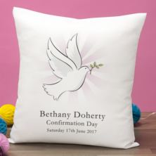 Personalised Confirmation Day Cushion