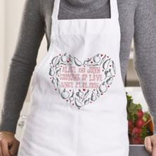 Personalised Cooking Up Love Apron