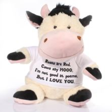 Extra Large Personalised Cow Soft Toy