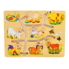 Match The Head Farm Puzzle
