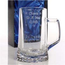 Personalised Dad's No. 1 Pint Tankard