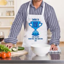 Dad of the Year Personalised Apron