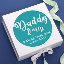Daddy and Me Personalised Keepsake Box