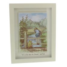Disney Classic Winnie The Pooh Heritage Wall Art - Fine Day For Friends
