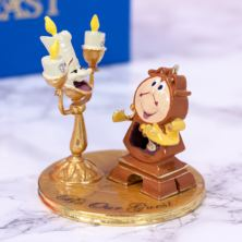 Lumiere And Cogsworth From Beauty And The Beast Ornament
