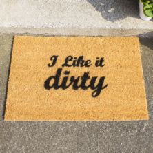 I Like It Dirty Doormat