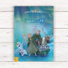 Disney Frozen Magic Of The Northern Lights Book