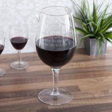 Personalised Dartington Jumbo Wine Glass Carafe