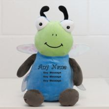 Personalised Embroidered Cubbies Dragonfly Soft Toy