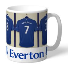 Personalised Everton Dressing Room Mug