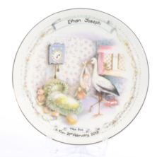 Personalised Early Days - Birth Plate