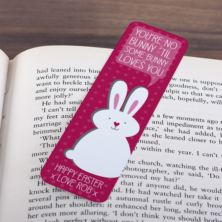 Personalised Easter Bunny Bookmark