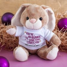 Personalised You're No Bunny 'Til Some Bunny Loves You Cuddly Rabbit
