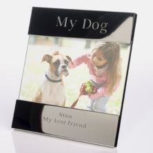My Dog Engraved Photo Frame