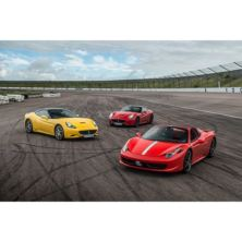 Triple Supercar Thrill with Free High Speed Passenger Ride - Special Offer