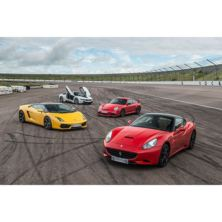 Four Supercar Driving Blast with Free High Speed Passenger Ride - Week Round