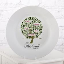Personalised Family Tree Plate