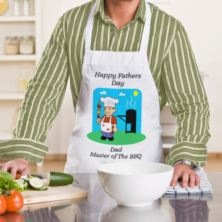Fathers Day Master Of The BBQ Apron