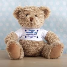 Personalised Fathers Day Teddy Bear