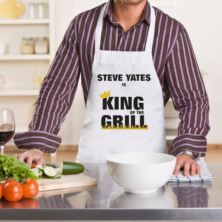 Personalised King of the Grill BBQ Apron