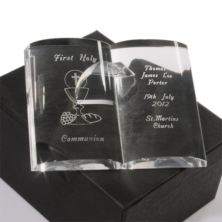 Personalised First Holy Communion Crystal Bible