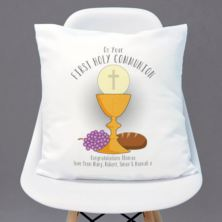 Personalised First Holy Communion Cushion