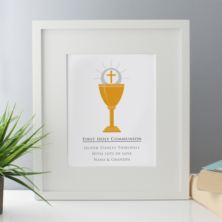 Personalised First Holy Communion Framed Print