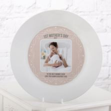 Personalised First Mother's Day Photo Plate