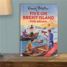 Personalised Enid Blyton Book - Five On Brexit Island